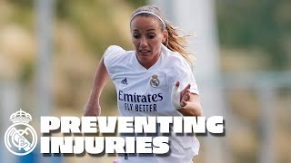 How to prevent injuries, with Real Madrid women's team