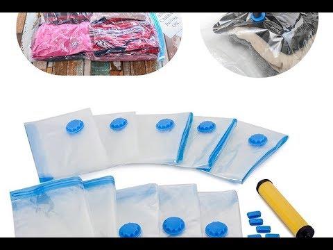 Вакуумный мешок для хранения одежды. Комплект 5 штук