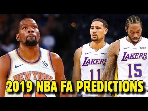 2019 NBA Free Agency PREDICTIONS!!!