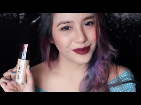 REVIEW | Loreal Infallible 24h Foundation | Jessica Godinez
