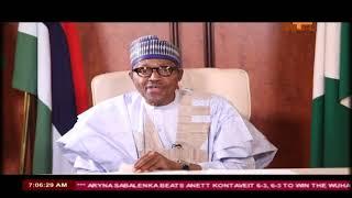 Buhari's Speech on #NigeriaAt58  Independence Anniversary