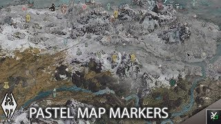 PASTEL MAP MARKERS: Quality of Life Mod!!- Xbox Modded Skyrim Mod Showcase