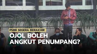PSBB Jakarta Akan Segera Berakhir, Ojol Boleh Angkut Penumpang?