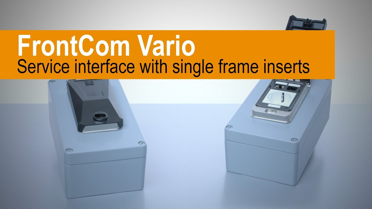 FrontCom® Vario Einfachrahmen