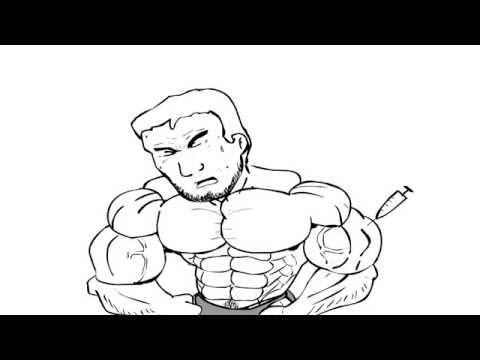 Les plus larges muscles immenses du dos