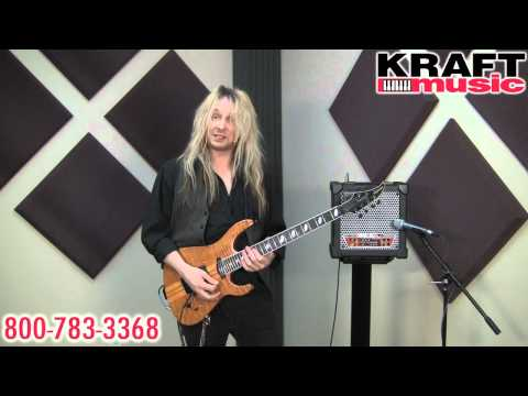 Kraft Music - Roland Cube 15XL Demo with Robert Marcello