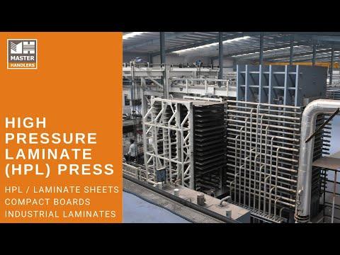 High Pressure Laminate  Press