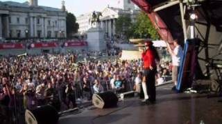 """Tameka (from Control) performs """"Dance With Me (I'm Your Ecstasy)"""" at London Pride July 3rd, 2010"""
