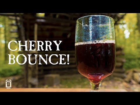 Campfire Cocktails! – Excellent Cherry Bounce From The 1700's