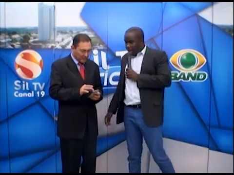 Bate papo ao vivo na afiliada da TV Bandeirantes no Tocantins.