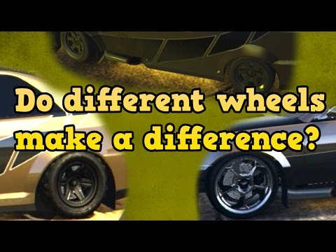 Do Different Wheels Make A Difference - GTA Online Guides