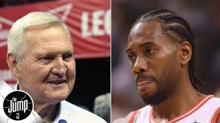 Jerry West Says The Clippers Are The Best Organization He's Ever Been With | The Jump