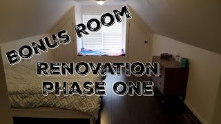 Bonus Room Renovation - Framing Closets, Daybed, Electrical, And Rough Drywall  - Phase One