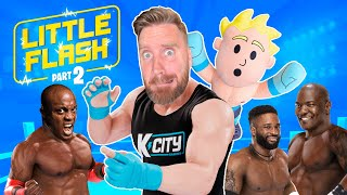Little Flash: Rumble Buddy Part 2 (Tag Team Championship) K-CITY GAMING