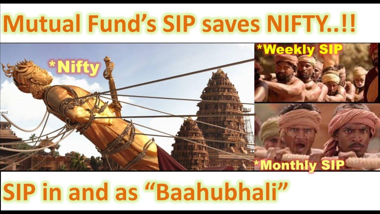Mutual Fund's SIP saves Nifty Fall. Wow. thumbnail