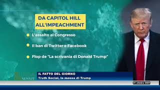 Truth social, la mossa di Trump (Il Fatto del giorno)