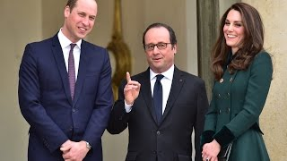 Prince William makes first trip to Paris since death of Princess Diana