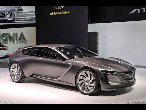 The Opel Monza Futuristic Concept Car