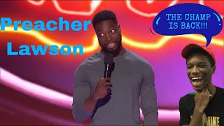 Preacher Lawson returns the AGT stage Reaction