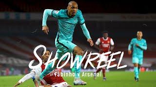 Showreel: Fabinho dominates at the Emirates   Arsenal vs Liverpool