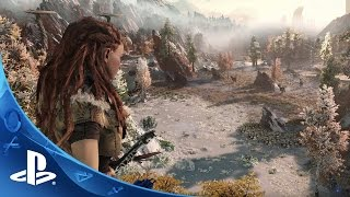 Horizon Zero Dawn  Paris Games Week 2015 Horizon Gameplay Walk Through Video  Exclusive To PS4
