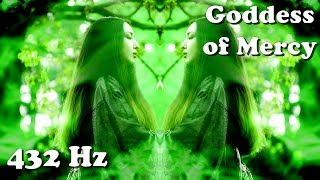 Green Tara (432 Hz) Goddess of Mercy, Compassion and Relief from bad Karma (meditation)
