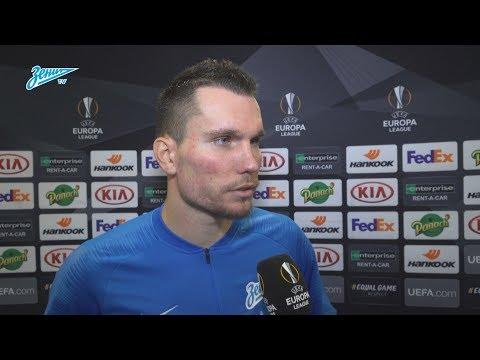 Антон Заболотный на «Зенит-ТВ»: «Кузяев показал то, что хочет видеть от нас главный тренер» видео