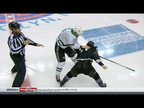 Radek Faksa vs Thomas Hickey