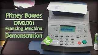 Franking Machines - Pitney Bowes DM100i Franking Machine