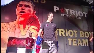 Послематчевый ролик «Astana Arlans» - «Patriot Boxing Team»
