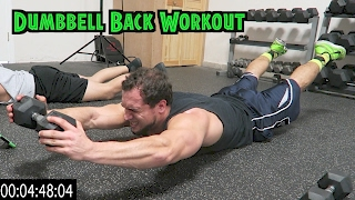 Intense 5 Minute Dumbbell Back Workout by Anabolic Aliens