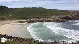 Praia de Moreira an der spanischen Nordküste