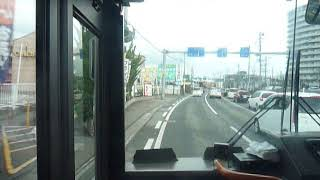 新潟交通 青山→新潟駅 前面展望
