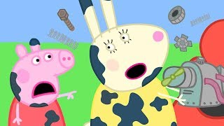 Peppa Pig Official Channel   Miss Rabbit is Mending Peppa Pig's Car