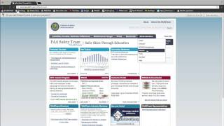 FAA Safety Team -- How to File a Report