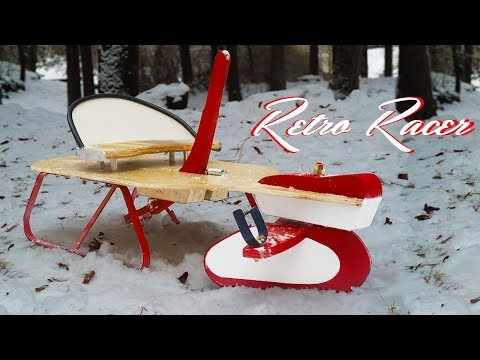 Retro Snow Sled Build