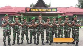 Selamat Idul Fitri Dandim 1008 Tanjung
