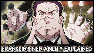 Explaining Franklin Bordeau's Nen Abilities (Double Machine Gun) | Hunter X Hunter Explained