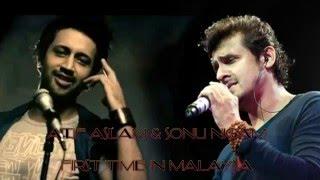 Atif Aslam & Sonu Nigam Full Concert, Live in Malaysia 2016