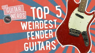 Top 5 Weirdest Fender Guitars Ever Produced