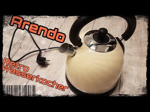 Arendo Retro Wasserkocher 3000 Watt - Unboxing, Hands On