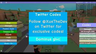 🔥 new trails 💪 dominus lifting simulator codes wiki - TH-Clip