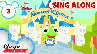 Sing-Along Nursery Rhymes Part 3 | 🎶 Disney Junior Music Nursery Rhymes | Disney Junior