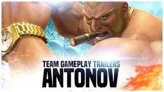 "KOF XIV - Team Gameplay Trailer #17 ""ANTONOV"""