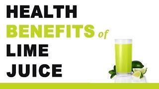Lime Juice Health Benefits
