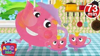 I am a Little Teapot (2D) | +More Nursery Rhymes & Kids Songs - Cocomelon (ABCkidTV)