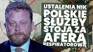 NIK: Polski wywiad zamieszany w aferę respiratorową! Dlaczego PiS nie rozlicza swojej afery?