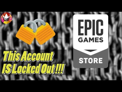 Epic Games Store, lock the account if you buy games too