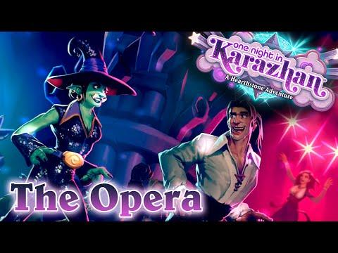 HS: Karazhan - The Opera - Levou zadní (Normal + Class Challenge) [CZ]