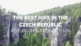 THE BEST HIKE IN THE CZECH REPUBLIC! ADRSPACH NATIONAL PARK TEPLICE ROCKS!